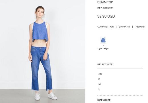 Có lẽ bất ngờ nhất chính là cả cây jeans cực chất này, giá chỉ khoảng 800 nghìn đồng. Đặc biệt, trông Hà Hồ còn hấp dẫn hơn cả người mẫu.