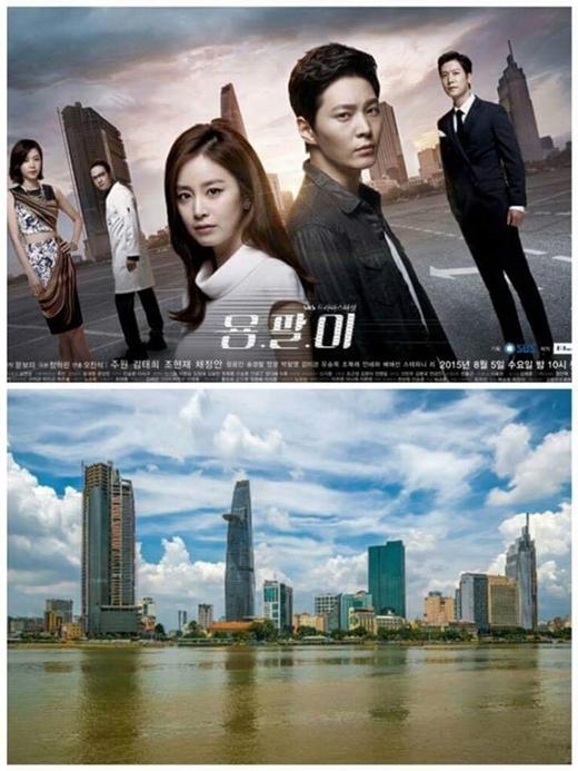 Hình ảnh giống nhau đến khó tin của poster Yong Pal và thành phố chúng ta