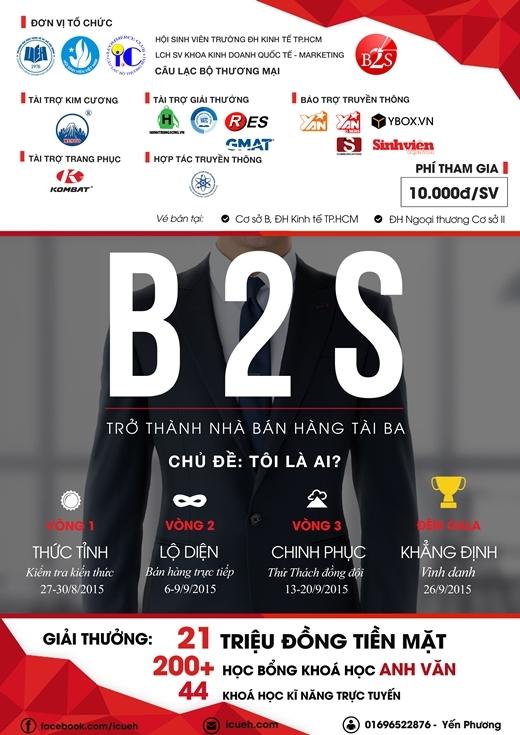 """""""Trở thành nhà bán hàng tài ba"""" cùng B2S 2015"""