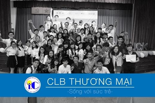CLB Thương mại (I.C) thành lập từ năm 2010 với sứ mạng tạo ra một môi trường sinh hoạt sôi nổi, nơi tạo ra những người bán hàng tiềm năng và với tinh thần nhiệt huyết, đam mê, hết mình vì tuổi trẻ.