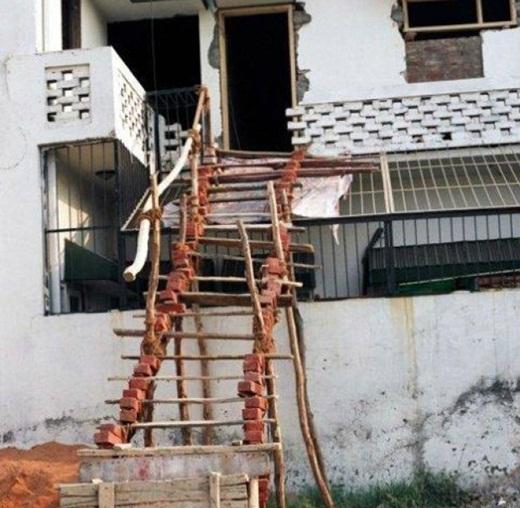 Liệu bạn có dám đi trên những bậc thang này không?