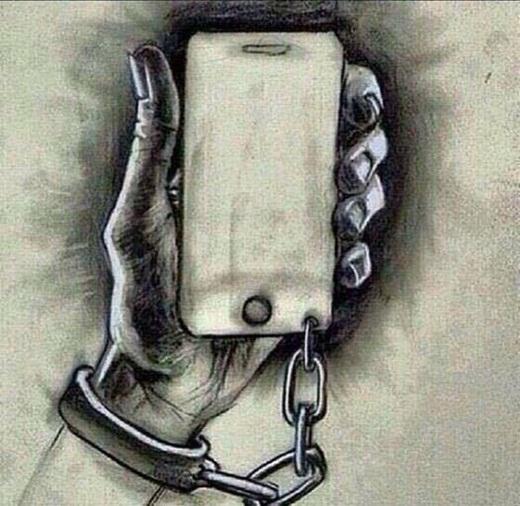 Điện thoại, công nghệ là những thứ giúp ta có cuộc sống tốt hơn. Nhưng đừng để cuộc sống của chính ta phải phụ thuộc vào những đồ vật vô tri.