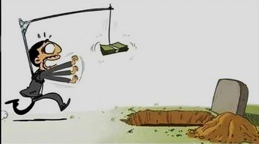 Đồng tiền khiến không ít người mờ mắt, mù quáng chạy theo, để rồi cũng chính những đam mê vật chất đó đưa đường dẫn lối ta tới nơi bế tắc.