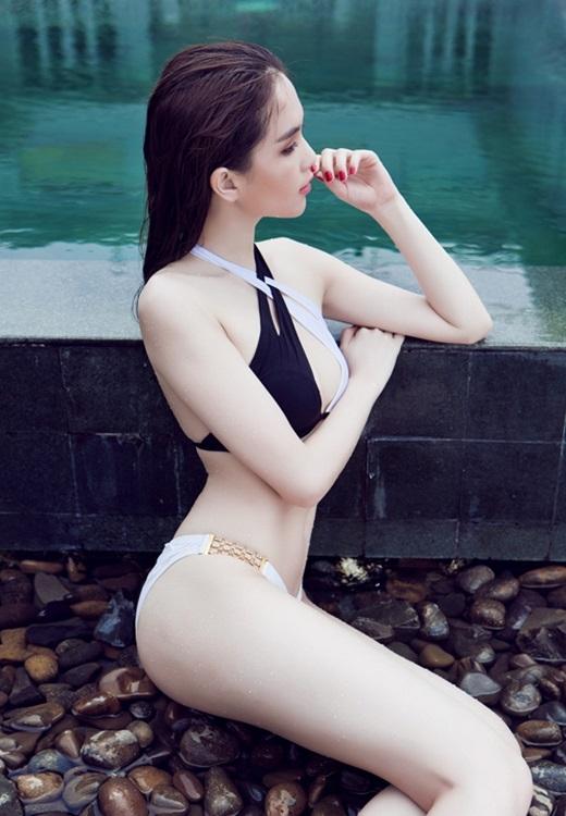 """Từng có thời gian, rất nhiều các cô gái trẻ lấy làn da của Ngọc Trinh làm """"mục tiêu phấn đấu"""" cho mình. - Tin sao Viet - Tin tuc sao Viet - Scandal sao Viet - Tin tuc cua Sao - Tin cua Sao"""