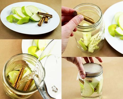 Bạn có thể uống loại nước này thay cho nước uống hàng ngày. Sau 2-3 lần thay nước, bổ sung các hoa quả mới để giữ trọn vị tươi ngon và vitamin.