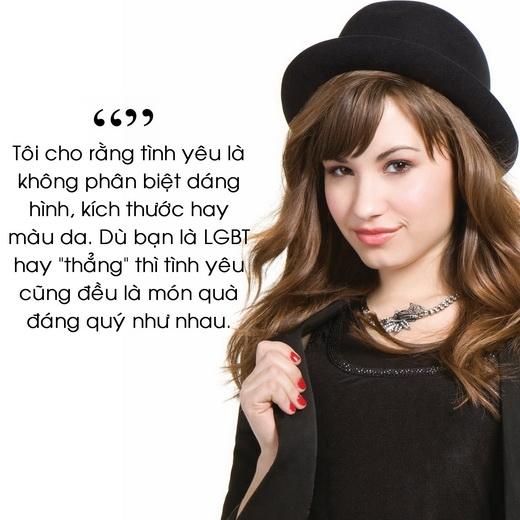 Những câu nói đáng nhớ của Demi Lovato
