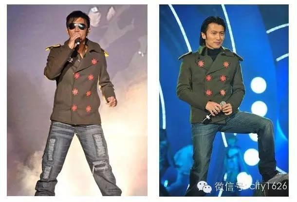 Tạ Đình Phong thường xuyên mặc đi mặc lại những bộ trang phục như thế này trong nhiều năm.