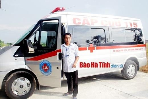 """Lái xe Trần Văn Đại kể lại hành trình """"cấp cứu"""" hy hữu của mình."""