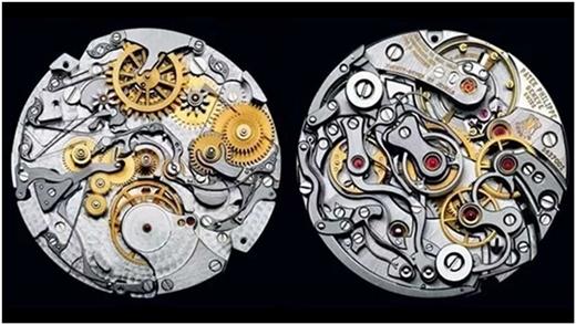 Bên trong chiếc đồng hồ Patek Philippelà cả một nghệ thuật của sự sắp đặt.