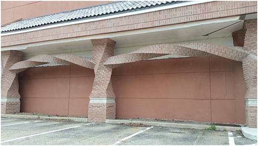Thanh xoắn của bức tường này đã đưa kiến trúc lên một tầm cao mới.