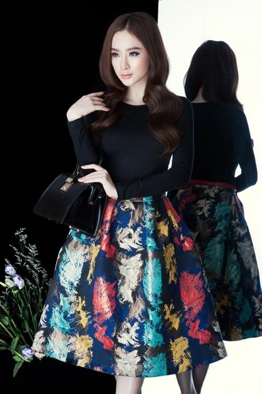 Angela Phương Trinh kiêu sa trong một bộ hình chụp cùng bộ sưu tập váy tiểu thư. - Tin sao Viet - Tin tuc sao Viet - Scandal sao Viet - Tin tuc cua Sao - Tin cua Sao