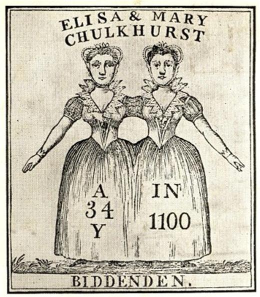 Chị em Mary và Eliza Chulkhurst.