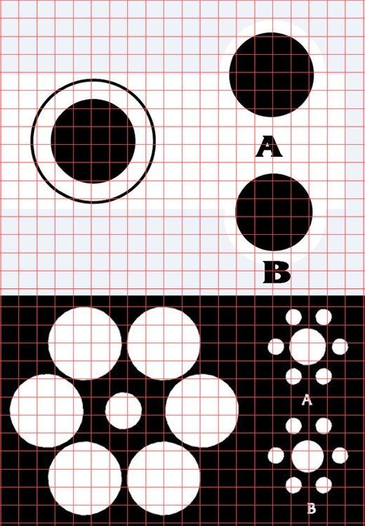 Rõ ràng, các hình trên hoàn toàn có kích thước bằng nhau đúng không nào?