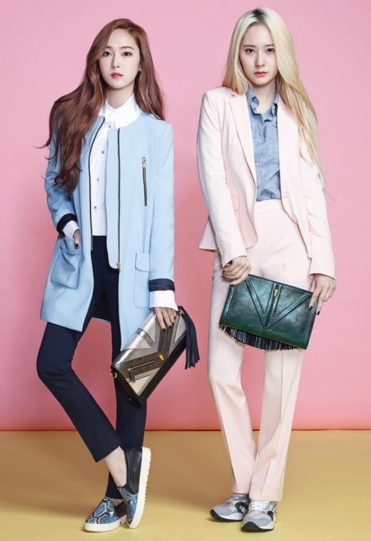 Jessica và Krystal là cặp chị em thành công nhất SM từ trước đến nay.