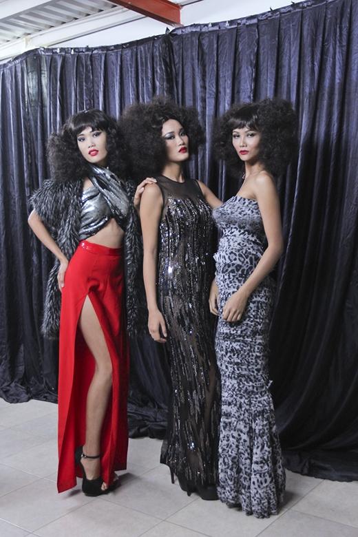 Ba cô gái H'Hen Niê, Nguyễn Thị Hợp, Đào Thị Thu được giao chủ đề Diva.