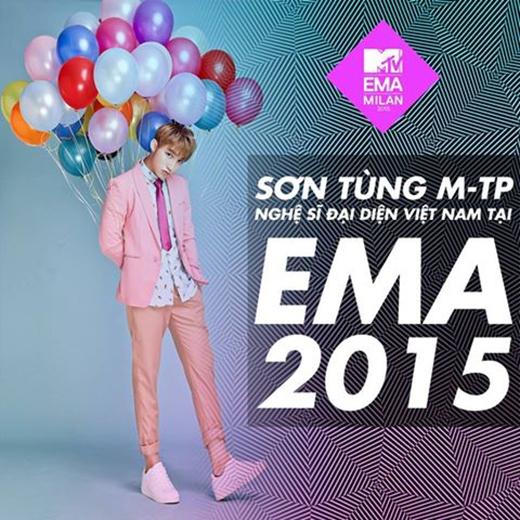 Kết quả cuộc đua EMA 2015, Sơn Tùng là gương mặt trẻ đầu tiên tranh giải quốc tế. - Tin sao Viet - Tin tuc sao Viet - Scandal sao Viet - Tin tuc cua Sao - Tin cua Sao