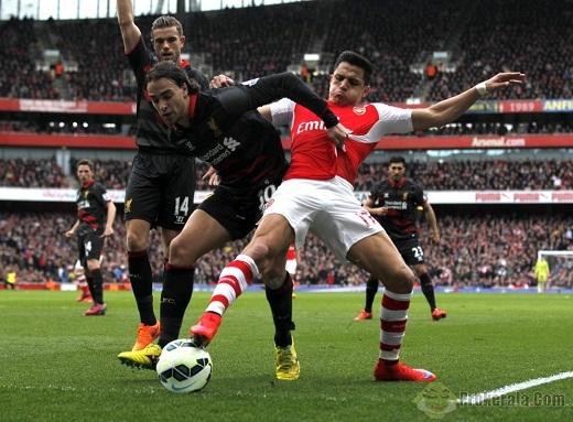 02g00 ngày 25/08, Arsenal vs Liverpool: Đọ súng tại Emirates