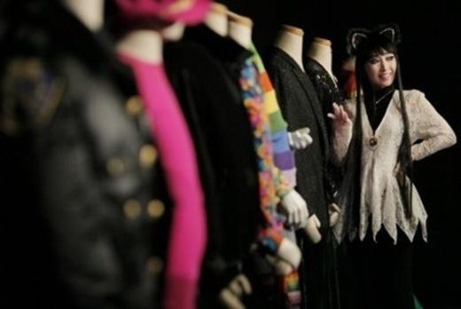 Công chúa Tenko và những bộ trang phục cầu kì