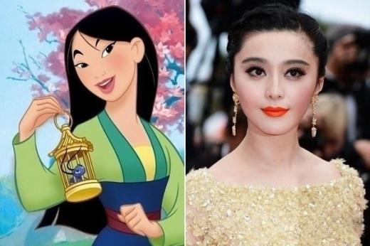 """Phát cuồng vì Phạm Băng Băng được xưng """"công chúa Disney"""""""