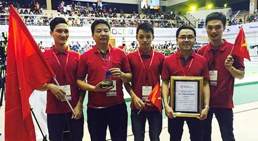 Việt Nam vô địch Robocon châu Á - Thái Bình Dương