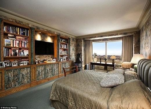 Căn hộ của siêu sao 30 tuổi gồm 3 phòng ngủ, 3 phòng tắm với nội thất sang trọng, nằm ở khu vực được xem là an toàn và đẹp nhất Manhattan, trái tim của New York.