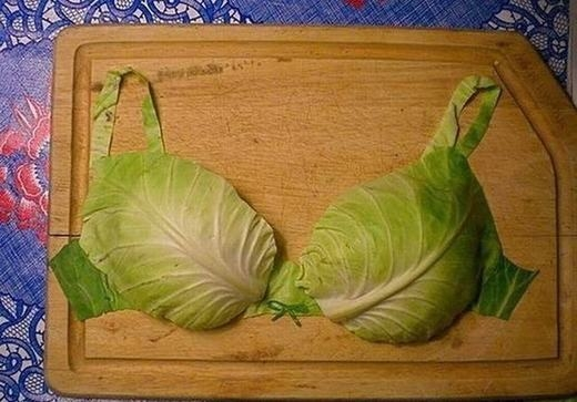 Áo ngực phiên bản rau củ...