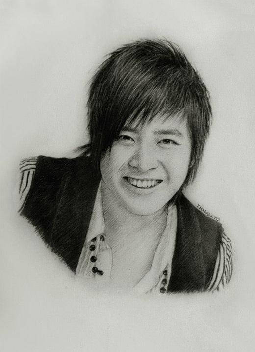Nụ cười rạng rỡ quen thuộc của Wanbi Tuấn Anh.