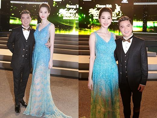 Trước đó, Hoa hậu Việt Nam 2012 - Đặng Thu Thảo cũng từng diện bộ váy này khi làm giám khảo đêm chung kết Hoa khôi Đồng bằng sông Cửu Long 2015.