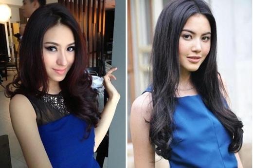 Thanh Vy và diễn viênMai Davika - Thái Lan.