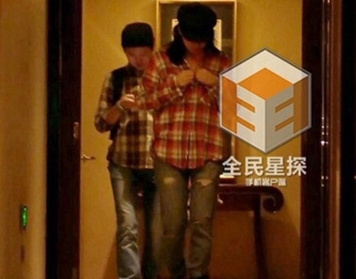 Tiểu Long Nữ Trần Nghiên Hy lộ ảnh qua đêm với Dương Quá Trần Hiểu