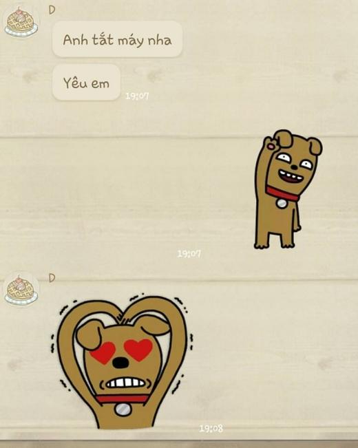 Những dòng tin nhắn của cặp đôi lâu năm này khiến nhiều người cảm thấy ngưỡng mộ. - Tin sao Viet - Tin tuc sao Viet - Scandal sao Viet - Tin tuc cua Sao - Tin cua Sao