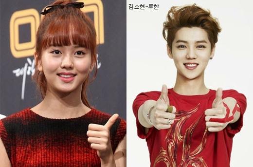 Luhanlại được nhận xét là sở hữu nhiều đường nét giống hệt sao nhí Kim So Hyun.