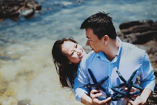 Ngẩn ngơ trước bộ ảnh cưới đẹp mê hồn tại đảo Lý Sơn