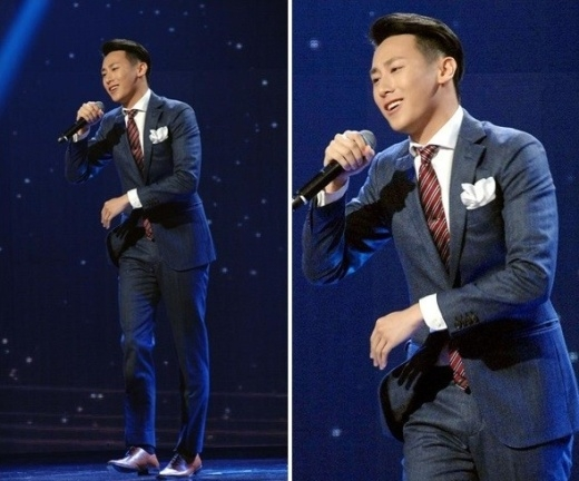 """Rocker Nguyễn đang """"gây sốt"""" tại Đài Loan bởi giọng hát hay và ngoại hình thu hút."""