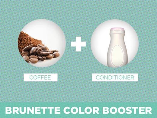 18.Muốn tóc có màu hạt dẻ quyến rũ, bạn hãy trộn bã cà phê với dầu xả rồi ủ tóc trong vòng 1-2 tiếng rồi gội sạch đầu bằng nước mát.