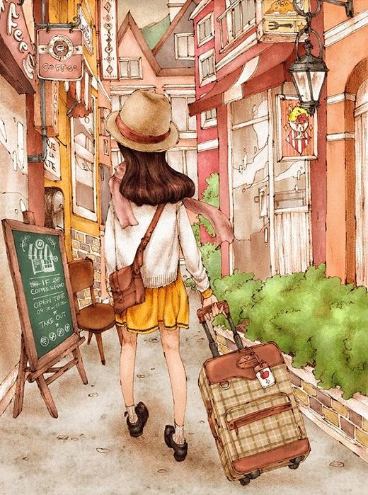 Rồi những chuyến đi rong ruổi khắp nơi để được trải nghiệm, khám phá và để biết đâu là nơi mình cần về...