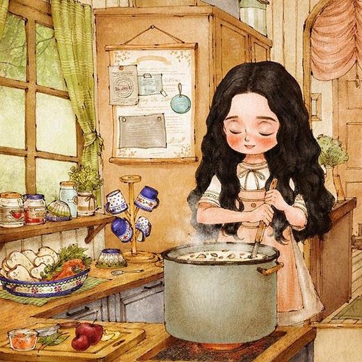 Đôi khi lại muốn nấu ăn thật ngon cho gia đình hoặc trổ tài cho người mình yêu, chứng minh mình là một cô gái tài giỏi, đảm đang.