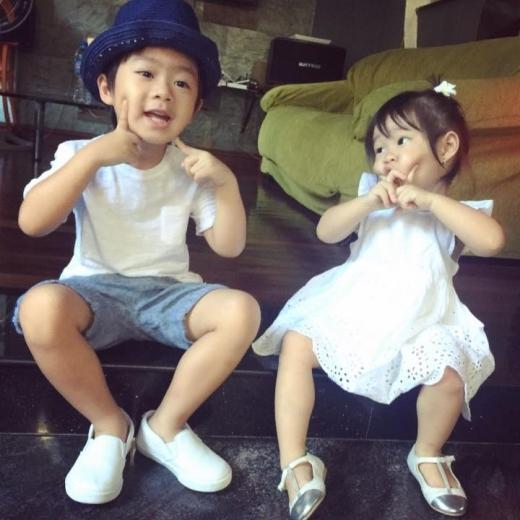 Vẻ đáng yêu của hai thiên thần nhà vợ chồng Lý Hải - Minh Hà - Tin sao Viet - Tin tuc sao Viet - Scandal sao Viet - Tin tuc cua Sao - Tin cua Sao