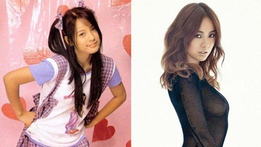 Nữ hoàng gợi cảm Lee Hyori cũng đã từng có một thời gian theo đuổi phong cách em gái kẹo ngọt, ngây thơ và đáng yêu.