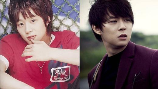 Park Yoo Chun (JYJ) đã bớt đi những đường nét thiếu niên và trở thành một người đàn ông trầm tính, quyến rũ.