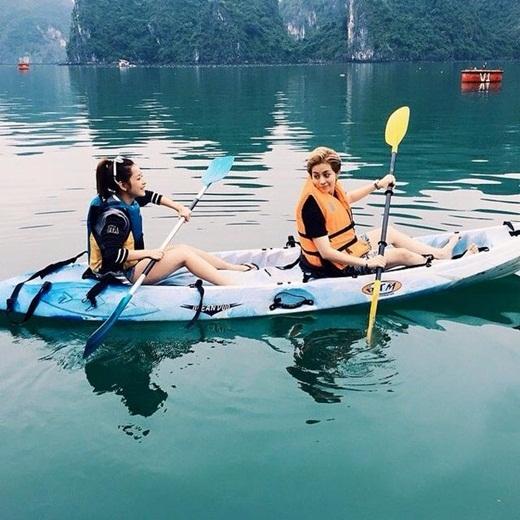 Sau những giờ phút làm việc mệt mỏi, Chi Pu - Gil Lê lại cùng nhau tận hưởng những chuyến du lịch trong và ngoài nước. - Tin sao Viet - Tin tuc sao Viet - Scandal sao Viet - Tin tuc cua Sao - Tin cua Sao