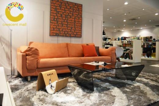 Các sản phẩm nội thất từ thương hiệu BoConcept đến từ Đan Mạch.