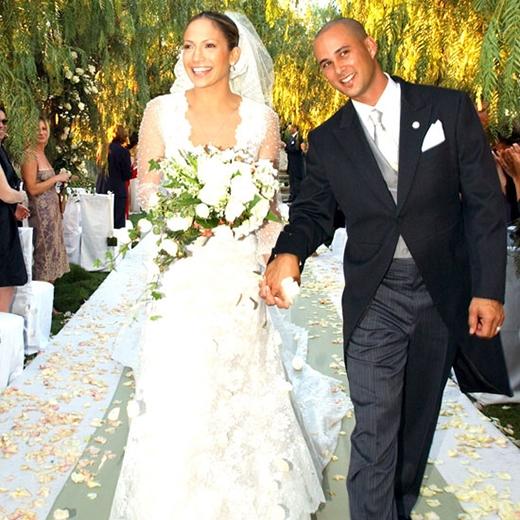Jennifer Lopez và Chris Judd đã kết hôn vào tháng 9/2001 tại Calabasas.