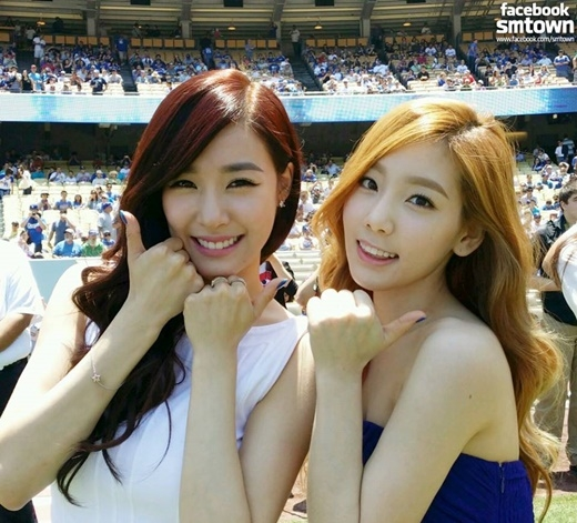 Tiffany luôn là nguồn năng lượng tràn đầy sức sống bên cạnh Taeyeon.