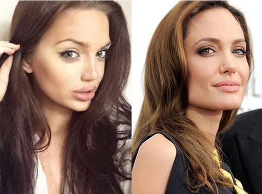 Dân mạng bất ngờ tìm thấy chị em sinh đôi thất lạc của Angelina Jolie