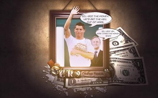 Ronaldo kiếm bộn tiền cho mỗi lần công khai tweet
