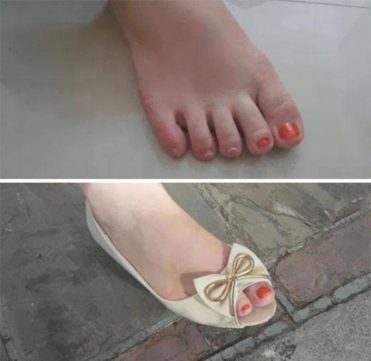 Tuyệt chiêu để không mất thời gian sơn móng chân... đó là sơn ngón cái và ngón trỏ là đủ.
