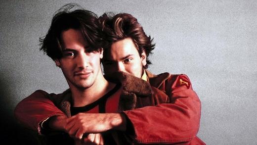 Keanu Reeves và River Phoenix
