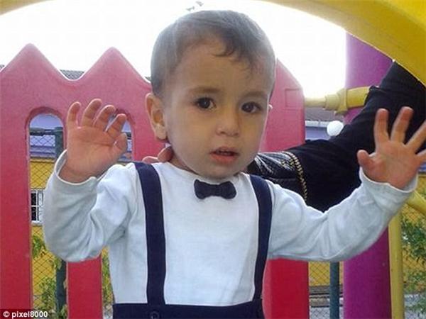 Thiên thần nhỏ Aylan Kurdi. Ảnh: Daily Mail