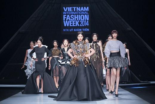 Những khoảnh khắc đáng nhớ của Vietnam International Fashion Week 2014.